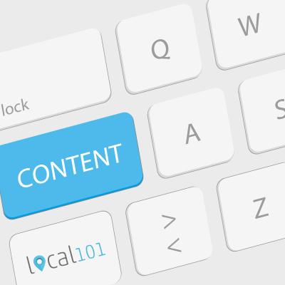 Content-Erstellung mit local101